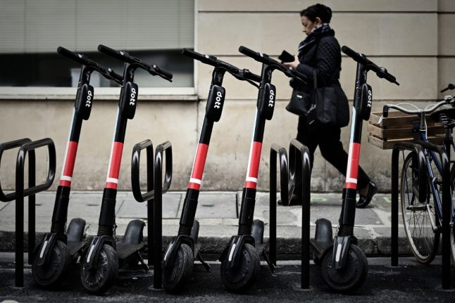 Paris announces the 3 firms licenced to operate electric scooters in capital