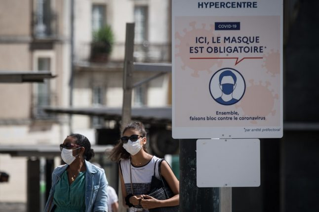 MAP: The French towns and cities where face masks are compulsory outdoors