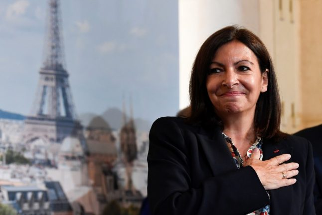 Urban forests, bikes and Airbnb: Paris mayor Hidalgo sets out six-year plan