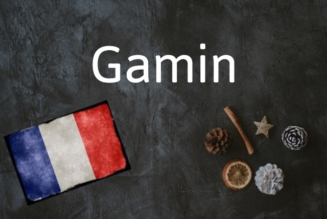 French word of the day: Gamin