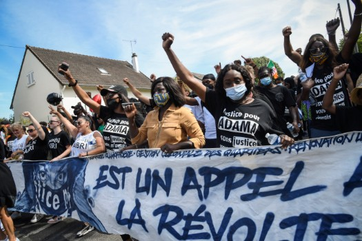 Thousands rally in France over death of man in police custody