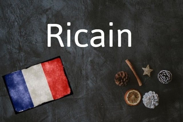 French word of the Day: Ricain