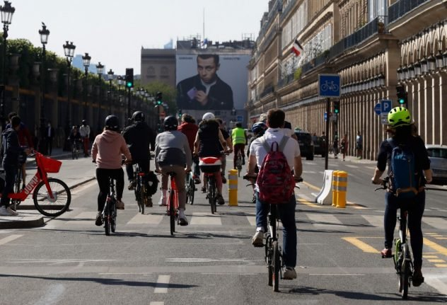 Is Paris close to achieving its goal of becoming a 'world cycling capital'?