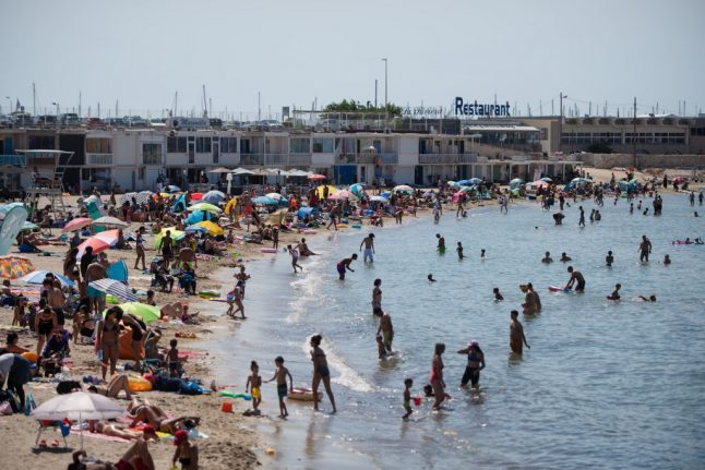 Marseille becomes latest French city to declares its beaches a no-smoking zone