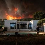 More than 200 evacuated after wildfire rages in southern France
