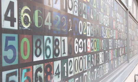 How did the French end up with their 'crazy' numbers?