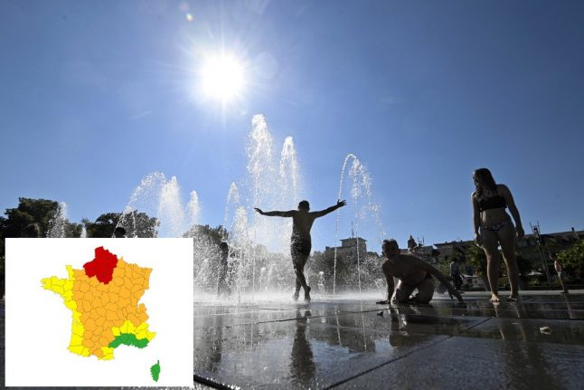 Heatwave continues as 15 French départements now on red weather alert