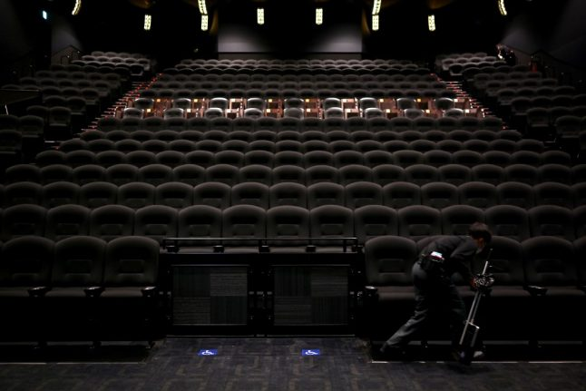 The health rules for going to the cinema in France