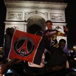 French police arrest 36 after crowds flock to Champs-Elysées following PSG win
