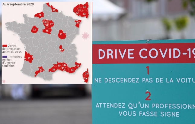 UPDATE: What does it mean if my French département is a red zone for Covid-19?
