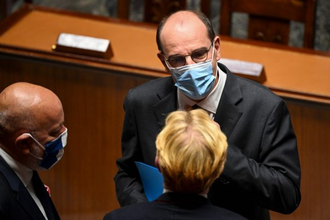 French PM urges population to 'take responsibility' for controlling coronavirus