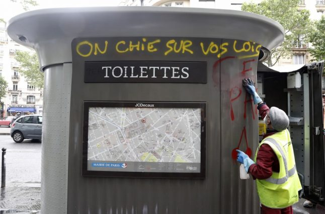 'Don't pee on Paris' – Do Parisians behave more anti-socially than the rest of France?