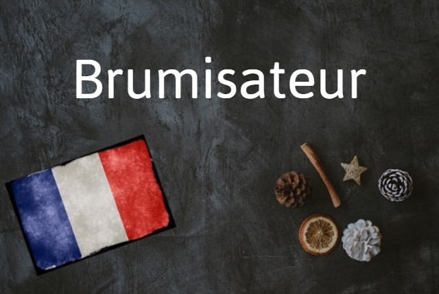 French word of the day: Brumisateur