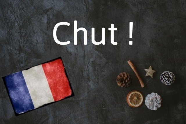 French word of the day: Chut