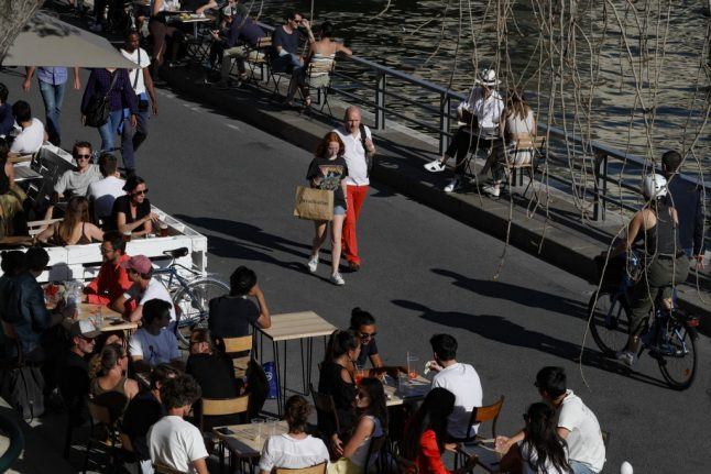 Parisians urged to restrict social lives as Nice toughens health restrictions