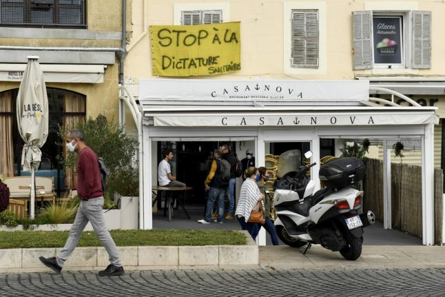 France offers more aid for bar owners as anger grows over closures