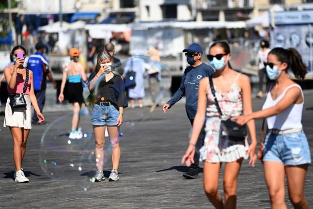 What are the new restrictions in and around Marseille?