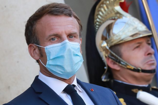 Macron promises new 'regional decisions' in fight against Covid-19 second wave