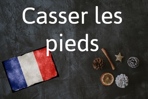 French expression of the day: Casser les pieds