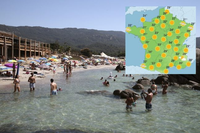 France set for record-high September temperatures as summer returns