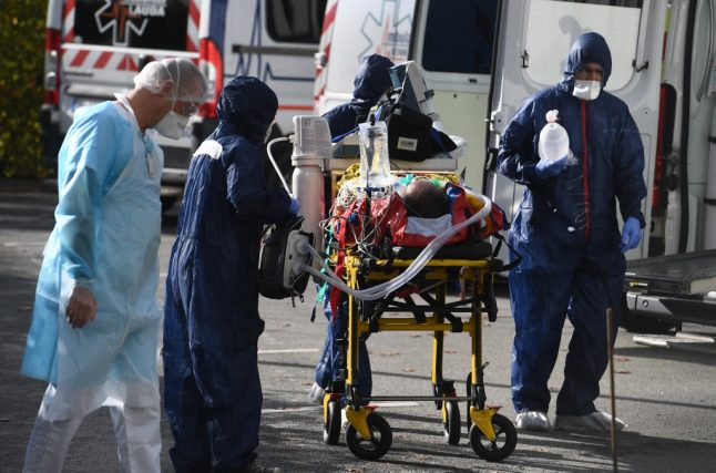 IN NUMBERS: Covid-19 deaths, cases and hospital patients in France