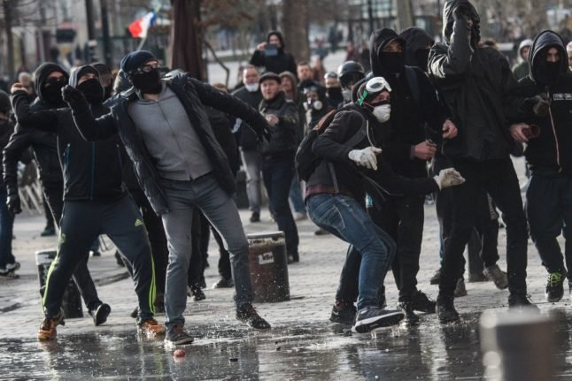 France takes action over notorious 'black bloc' rioters – to make their name more French