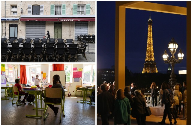 What changes about life in France in October 2020?