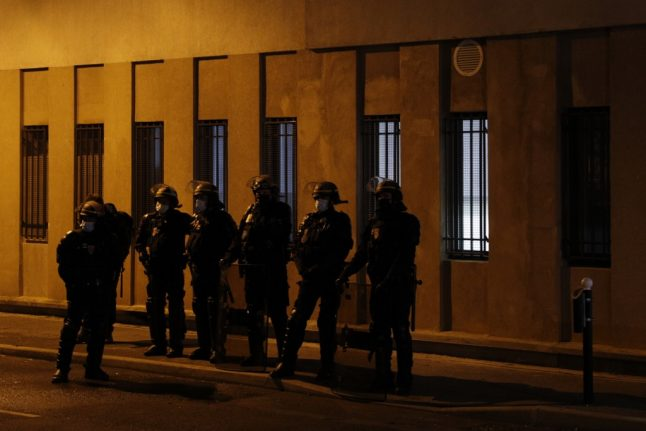 French interior minister wants to restrict sale of fireworks after attack on Paris police station