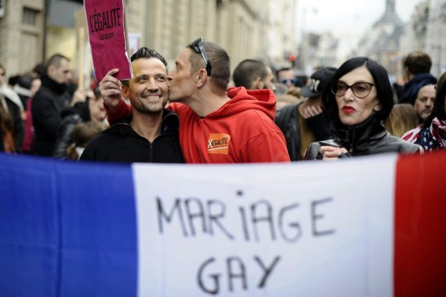 France's 40-point plan to tackle LGBT discrimination