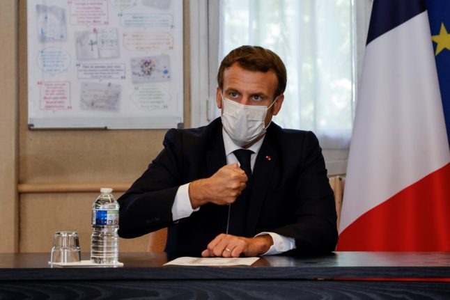 Macron 'set to announce new Covid-19 lockdown' as France reports over 500 deaths