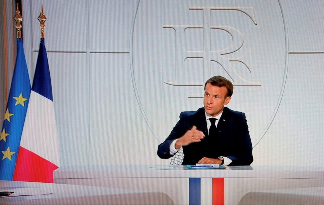 Macron orders nighttime curfew for parts of France hardest hit by Covid-19