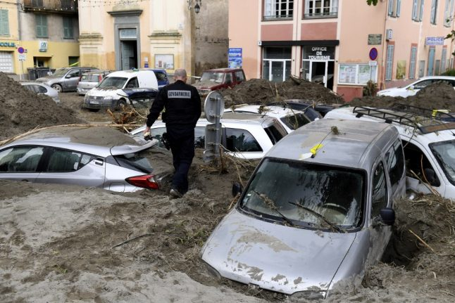 UPDATE: One person confirmed dead and eight missing after severe floods in south eastern France