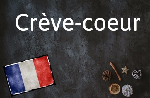 French word of the day: Crève-coeur