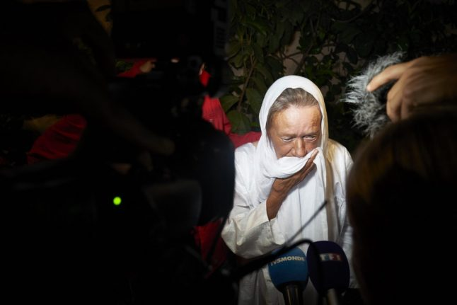 French hostage released after four years of captivity in Mali