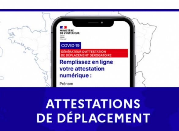 Attestations: The three permission forms you need in France to leave your home