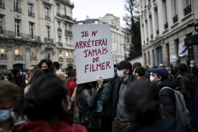 Protests over security law as France reels from police violence