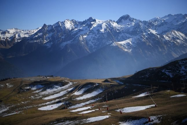 French police search for British hiker missing in mountains