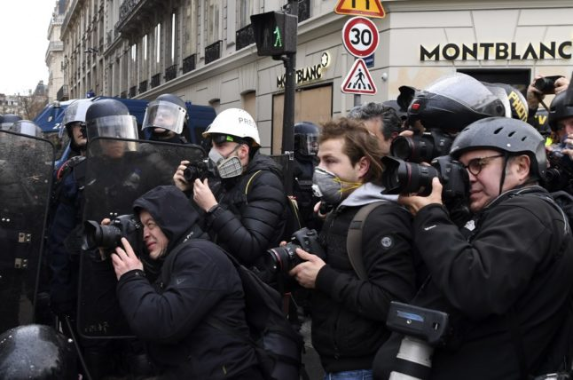French minister suggests journalists should alert police before reporting on protests