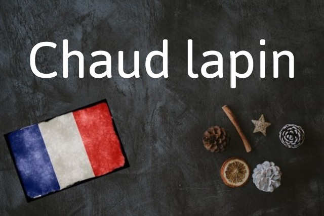 French expression of the day: Chaud lapin