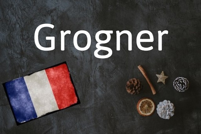 French word of the day: Grogner