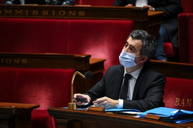 France's interior minister orders suspension of police caught on camera beating music producer