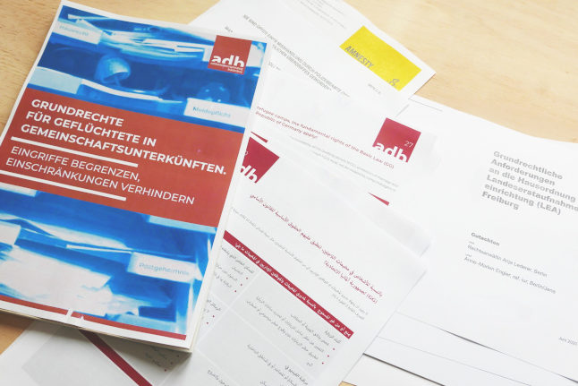 How legal information can support refugees' fight for their rights in Germany