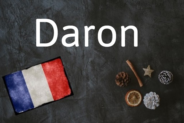 French word of the day: Daron