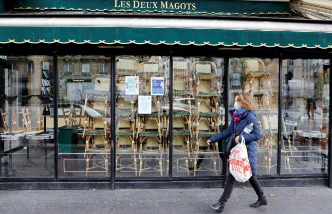 French economy projected to shrink by 9-10 percent in 2020