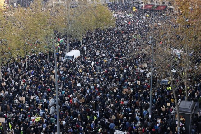 UPDATE: Thousands protest across France against police violence