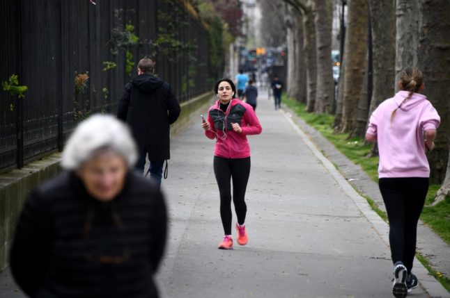 What you need to know about France's lockdown rules on sport and outdoor activities