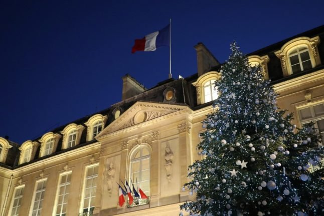 France begins Christmas tree sales after they are ruled 'essential'