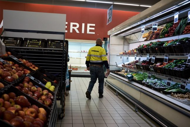 These are the 'essential' items French supermarkets can sell during lockdown