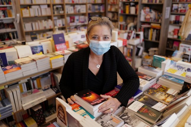 French authors to pay bookshop fines for staying open despite coronavirus rules