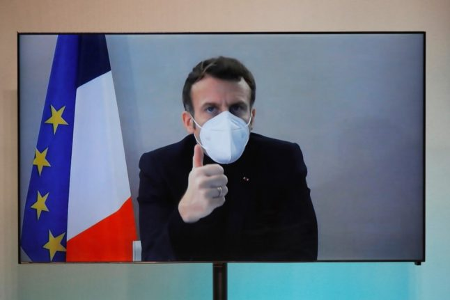 Macron runs France from presidential retreat after catching Covid